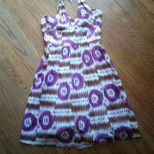 Trina Turk Tie Dye Halter Dress NWT